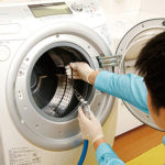 全自動洗濯機除菌クリーニング(ドラム式)