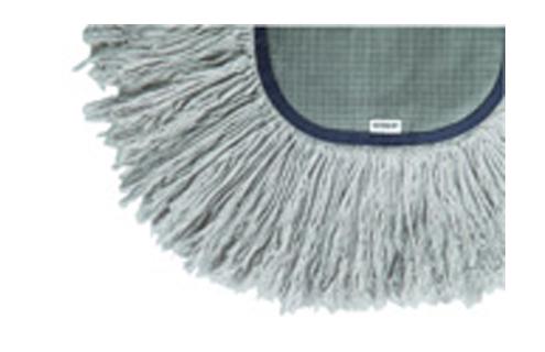 パイルをあま撚り(ゆるめに編む)することで表面積を広くし、ホコリの捕集性能を高めています。