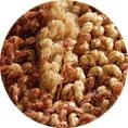 抗菌パイルが菌の増殖を防ぎます。