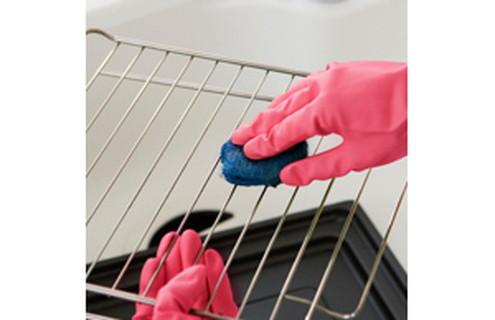 磨きにくいグリル網の汚れも簡単に!
