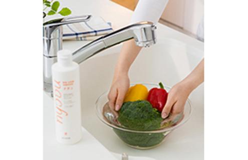 野菜洗いも手間なくしっかり!