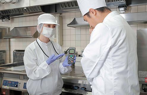 清浄度測定サービス(ATP拭き取り検査)